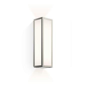 Decor Walther Bauhaus 1 N LED Светильник настенный 8x9x30см, светодиодный, 2x LED 6.4W, цвет: никель сатинированный