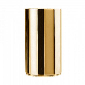 Стакан настольный Bongio Stelth, цвет: золото 24к.