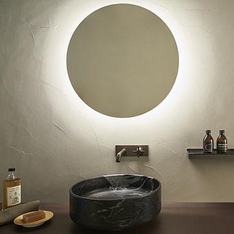Agape Bucatini Круглое зеркало d50x6 см, со светодиодным освещением