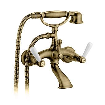 Bongio Capri Смеситель для ванны, 2 отв., цвет: золото