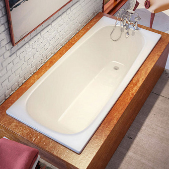 Bette Form Ванна встраиваемая  1700х700х420 мм, с системой антишум., BetteGlasur® Plus, BetteАнтислип, цвет: белый