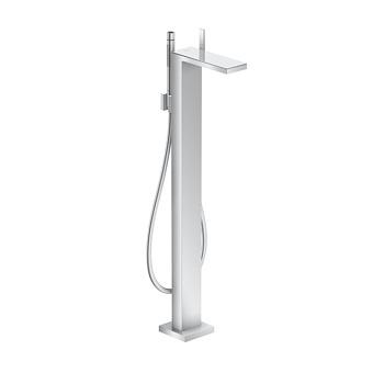 Axor MyEdition Смеситель для ванны, напольный, на 1 отв., излив 245мм, со сливным гарнитуром, цвет: хром