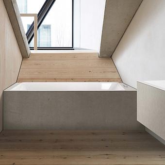 BETTE Loft Ванна 180х80х42 см, с шумоизоляцией, BetteGlasur® Plus, цвет: белый