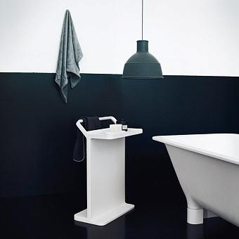 Agape Multifunzione Стойка с полотенцедержателем 50x30.5x73.2 см, цвет: белый