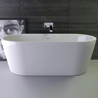 Knief Neo Ванна отдельностоящая 170*80*60см, с экраном, с щелевым переливом, цвет белый