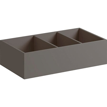 Geberit Xeno² Перегородка для выдвижного ящика, 37.3х9.8х20.8см, цвет: серый/меламин
