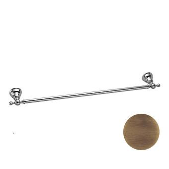 HUBER Croisette Полотенцедержатель 60 см, подвесной, цвет бронза