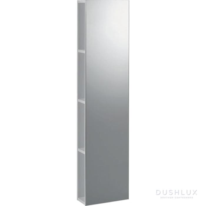 Geberit iCon Стеллаж с зеркалом 28х120х14см,, цвет: белый