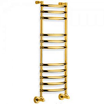 Margaroli Luna Полотенцесушитель водяной 43.5х19х107.9смсм., межосевое расстояние: 36см., цвет: old brass