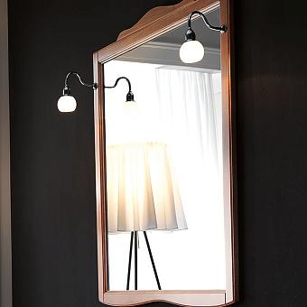 KERASAN Retro Зеркало в деревянной раме 92xh116см, цвет: noce