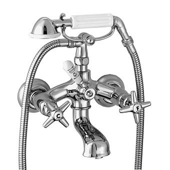 Stella Italica Смеситель для ванны 3274/306 с ручным душем, цвет: хром