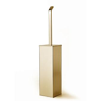 3SC Serie WIL Туалетный ёршик, напольный, цвет: золото 24к. Lucido