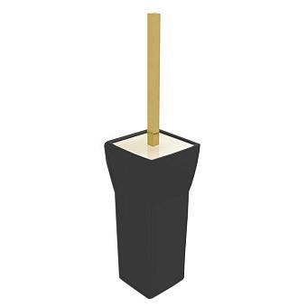 Bertocci Grace Ерш напольный, цвет черная керамика/золото