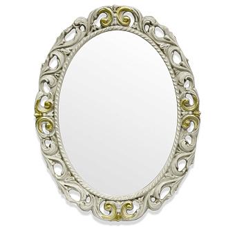 TW Зеркало в раме 72х92см, цвет рамы слоновая кость/золото