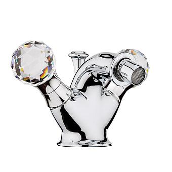 Смеситель для биде Webert Karenina КА710102 Хром/кристаллы Swarovski