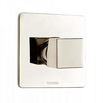 Bossini Cube Смеситель для душа на 1 выход , цвет:  никель шлифованный