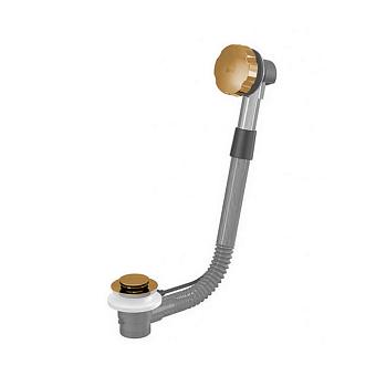 Nicolazzi Complementi Слив-перелив (автоматический) для ванны, цвет: золото 24к
