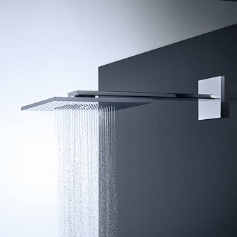 Axor ShowerSolution Верхний душ, 300x300мм, 2jet, с держателем 450мм, настенный монтаж, цвет: хром