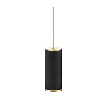 Gessi Inciso Ершик для туалета, напольный. цвет: золото/черный
