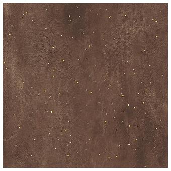 Lea Ceramiche Concreto Керамогранит 120x120x0.6см, универсальный, неглазурованный, декор drops gold, цвет: rust/противоскользящая