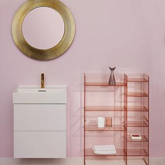 Laufen Kartell Стеллаж, 750х260х530мм, пластик, цвет: пудровый розовый