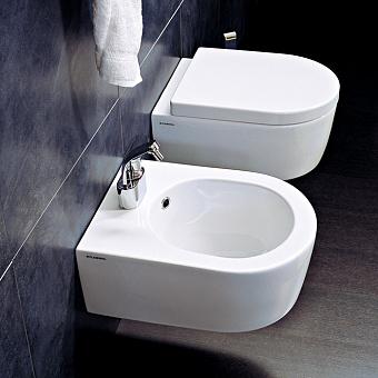 Flaminia Mini Link Унитаз подвесной 48.5x36xh20см, цвет: белый глянцевый