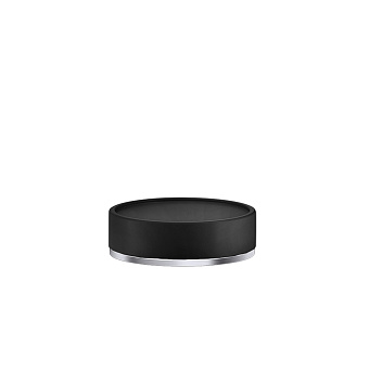 Gessi Inciso Мыльница настольная, цвет: черный/finox