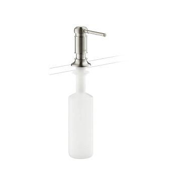 Axor Montreux Диспенсер для мытья посуды, цвет: сталь