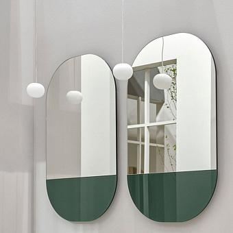 Cielo Eos Зеркало 107x67x4 см, с LED подсветкой, цвет: Muschio