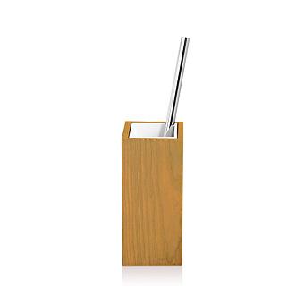 Decor Walther Wood SBG Туалетный ершик, напольный, цвет: светлый бук