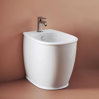 Artceram Atelier Биде напольное 52,5х37,5хh42см, с 1 отв под смеситель, цвет: белый