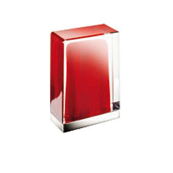 Fantini Venezia Ручка для смесителя, муранское стекло, цвет: хром-красный