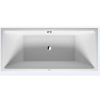 Duravit Vero Air Ванна 1800x800 мм, отдельностоящая, с бесшовной панелью и рамой, с 2 наклонами для спины, цвет белый