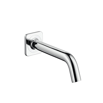 Axor Citterio M Излив для ванны, 182мм, настенный, ¾', цвет: хром
