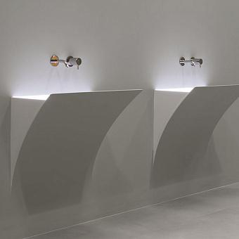 Antonio Lupi Strappoxl Раковина  встраиваемая в стену, 51,3х92,8см, с LED подсветкой, цвет: белый