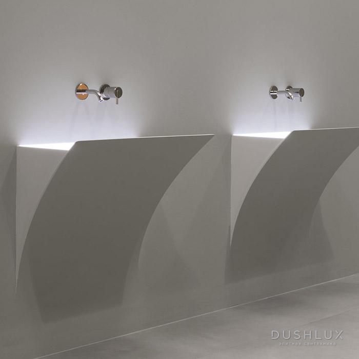 Antonio Lupi Strappoxl Раковина 51.3х92.8 см, без отв., с LED подсветкой, цвет: белый
