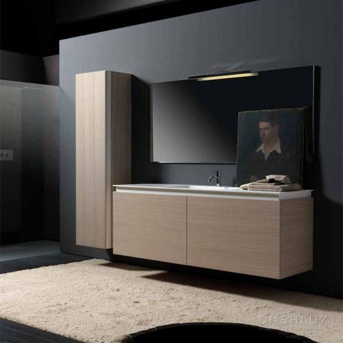 Karol KS comp. №12, комплект подвесной мебели 160+40 см. цвет: Rovere Sbiancato