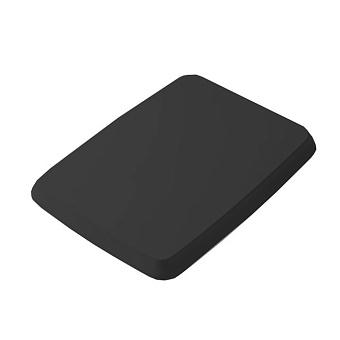 Artceram CIVITAS Сиденье для унитаза, шарниры хром, с микролифтом, цвет: черный