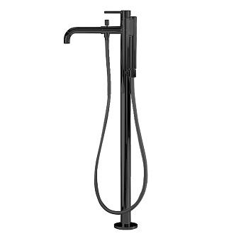 Webert Elio Смеситель для ванны, напольный, цвет: черный