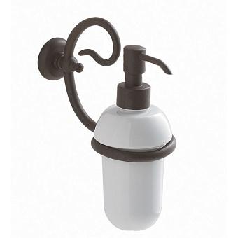 Globo Paestum Дозатор для жидкого мыла, античный металл подвесной монтаж