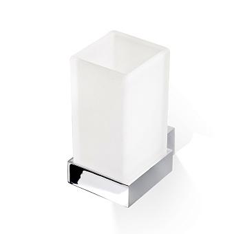 Decor Walther Corner WMG Стакан подвесной, стекло сатинированное, цвет: хром
