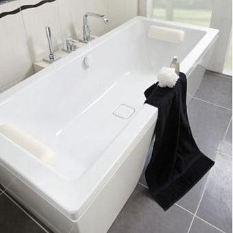 Kaldewei Conoduo Mod 733, Ванна 1800х800x430 мм с отверстиями под ручку 5904.7000.0999, с E-plus, Цвет: белый