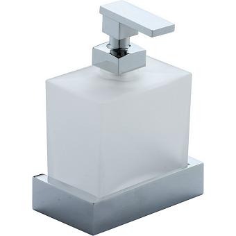 CISAL Quad Подвесной дозатор, цвет матовое стекло/хром