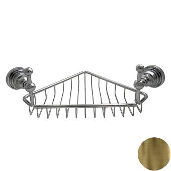 Nicolazzi Accessori Classica Полочка-решетка угловая, цвет: Bronze Plated