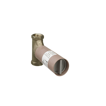 Axor/Hansgrohe  Скрытая часть запорного вентиля, шпиндельная, скрытый монтаж 3/4, расход воды 130 л/мин