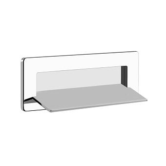 Gessi iSpa Каскадный излив для душа настенный прямоугольный, для монтажа с удаленным управлением, цвет: Mirror Steel