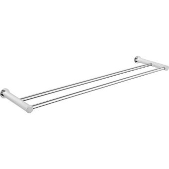 CISAL Xion Полотенцедержатель двойной  60 см, цвет нержавеющая сталь
