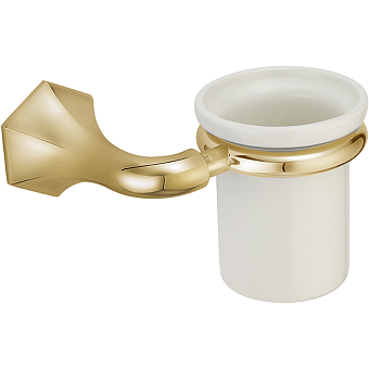 CISAL Cherie Стакан подвесной, цвет золото/керамика