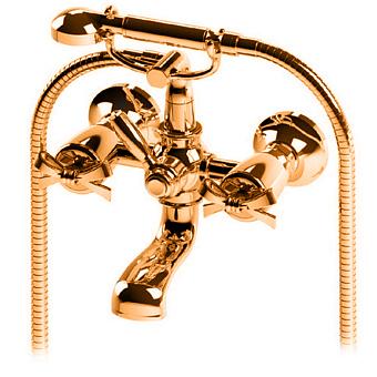 Petracers Aquadolce, Смеситель для ванн, цвет: бронза