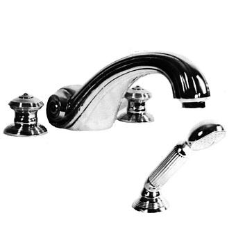 Cristal et Bronze Bonroche Смеситель для ванны, излив 215 мм, цвет хром